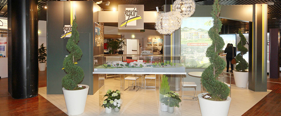 cible publicit stand vitrine. Black Bedroom Furniture Sets. Home Design Ideas